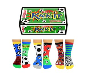 United Oddsocks Kick It Kids Socks [Size 6-12 UK]
