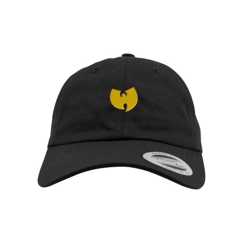 9c77219cdaf Mister Tee Wu Wear Logo Dad Cap Black