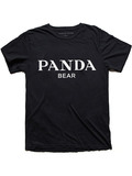 Alex & Chloe Panda Bear Black/White Women's T-shirt