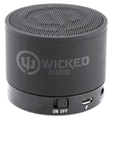 Wicked Audio Outcry Black Bluetooth Speaker