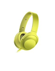 Sony MDR-100 Yellow Bluetooth Noise-Cancelling Headphones