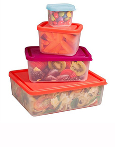 Bentology Box Food Containers Sorbet [Set of 4]