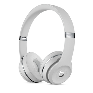 Beats Solo3 Satin Silver Wireless On-Ear Headphones