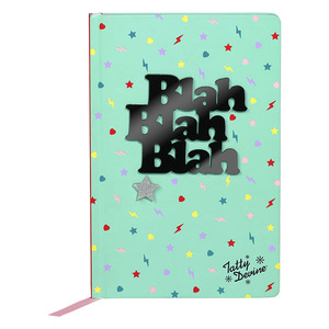 Tatty Devine Blah Blah Blah A5 Notebook