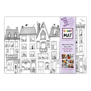 Funny Mat Activity Placemat The Stork On The Roof