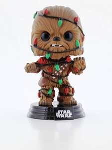 Funko Pop Star Wars Holiday Chewie with Lights Vinyl Figure