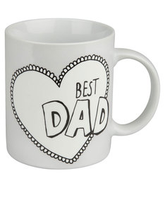 Konitz Best Dad Gift Box 330ml Mug
