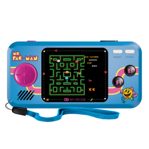 My Arcade Ms. Pac-Man Pocket Player Blue