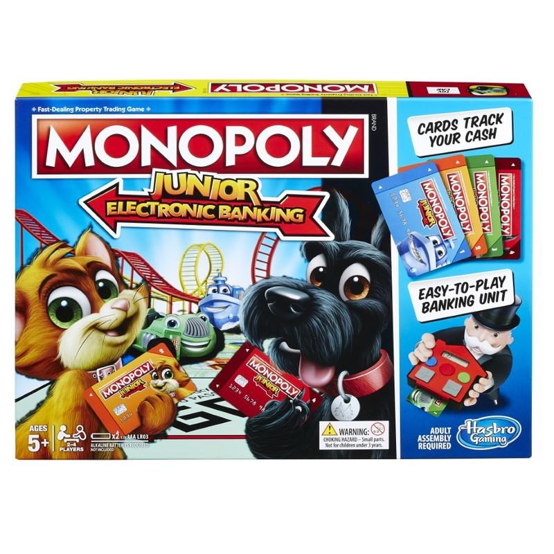 Hasbro Monopoly Electronic-Banking Board Game