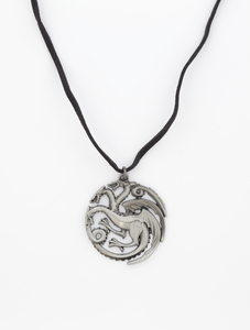 Noble Game of Thrones Targaryen Sigil Pendant