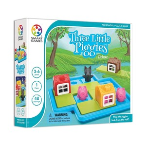 Smartgames Pre-School Fairy Tales Three Little Piggies Deluxe