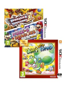 Puzzle & Dragons +Yoshi's New Island Selects [Bundle]