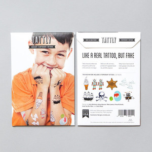 Tattly Kids Mix 1 Temporary Tattoo Set