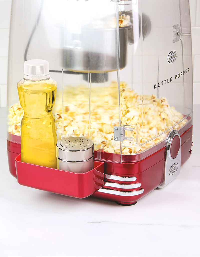 Free Nostalgia Kettle Popcorn Maker Retro Red With Nostalgie Kchen