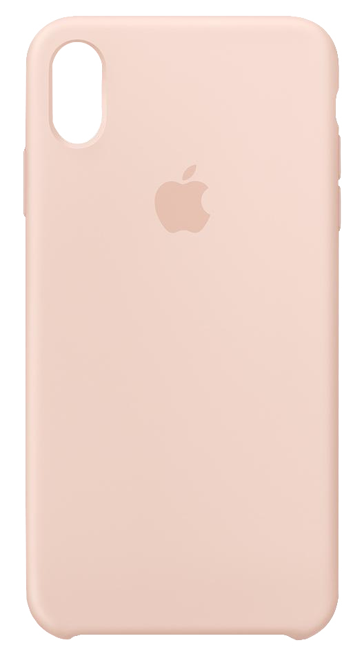 pretty nice 95b77 ea28a Apple Silicone Case Pink Sand for iPhone XS Max