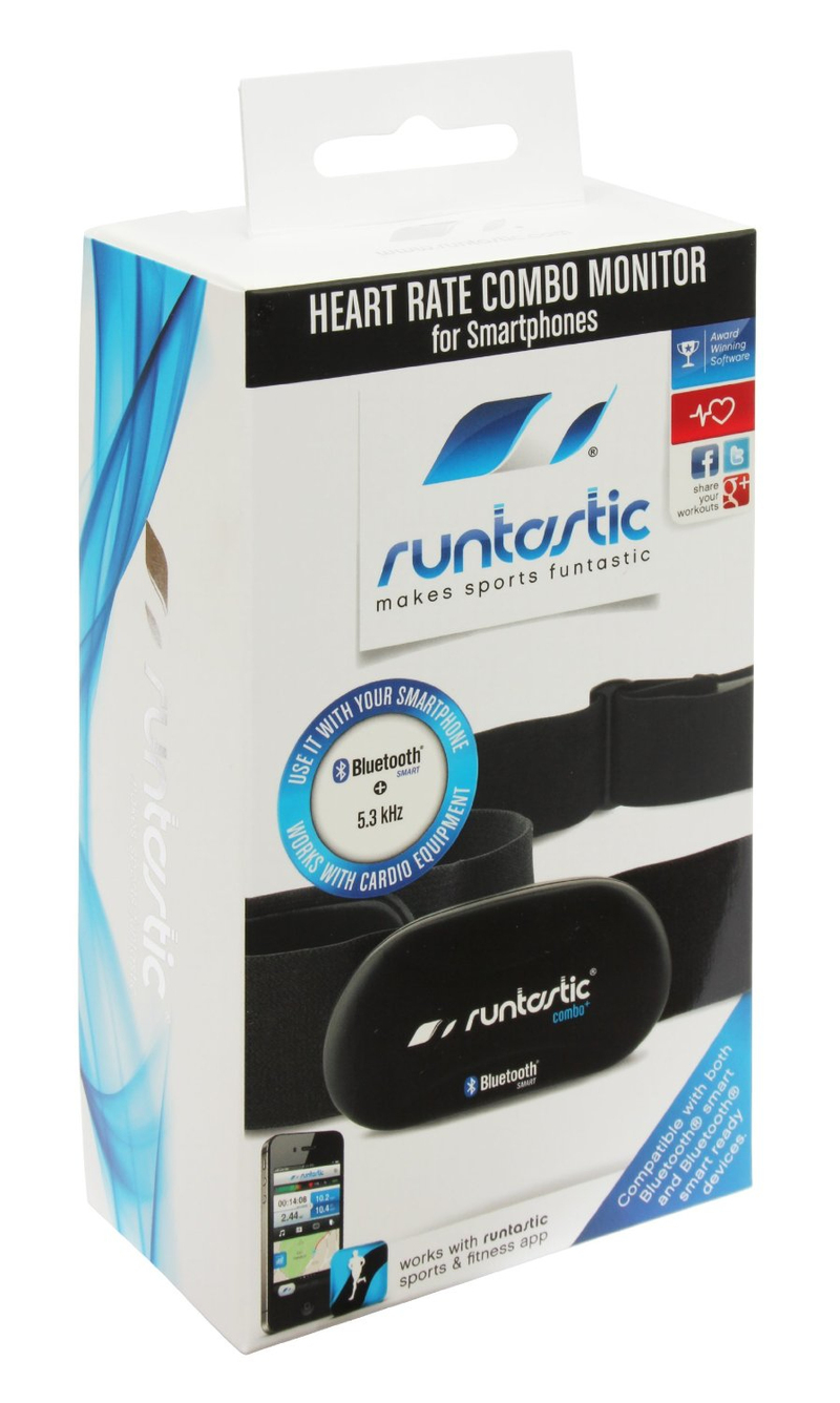 Runtastic Bluetooth Combo Heart Rate Monitor