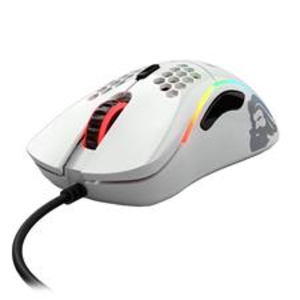 Glorious Model D Glossy White Gaming Mouse