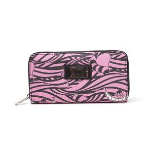 Difuzed Disney Alice In Wonderland Cheshire Cat All Over Print Zip Around Wallet