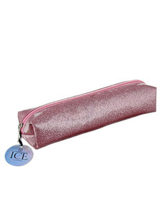 Ice London Glitter Pencil Case Pink
