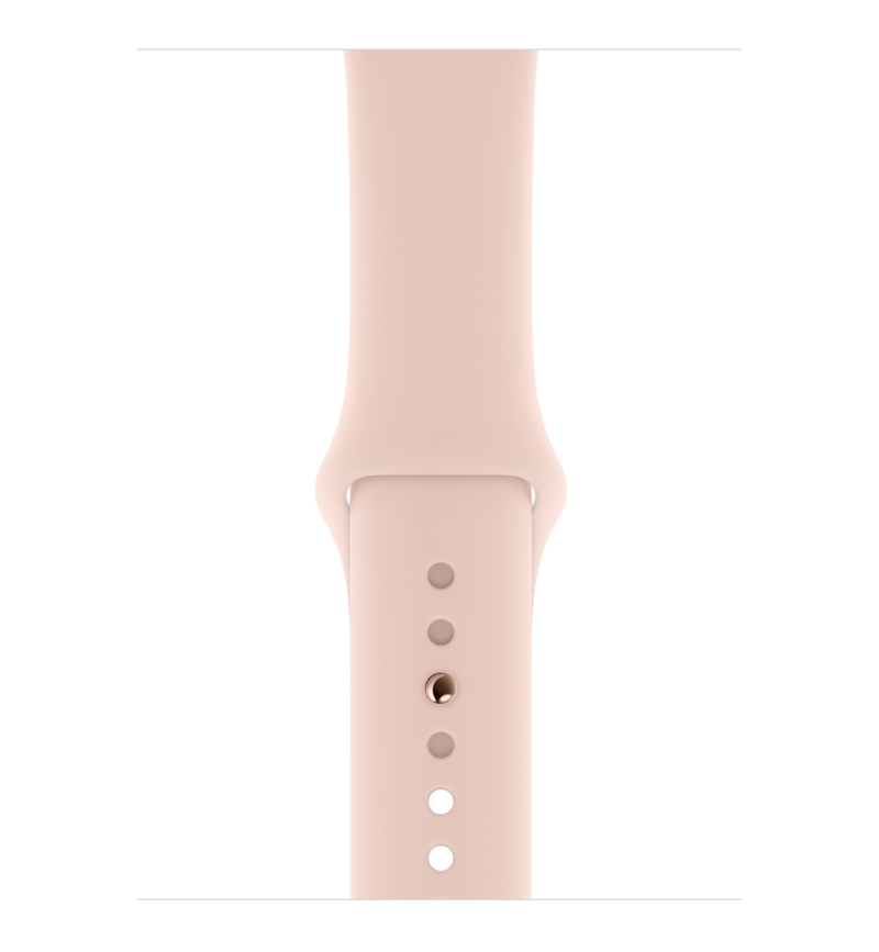 half off 7887a 6bac9 Apple Watch Series 4 GPS 40mm Gold Aluminium Case with Pink Sand Sport Band