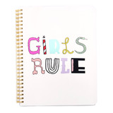 Ban.Do Rough Draft Spiral Notebook Girls Rule