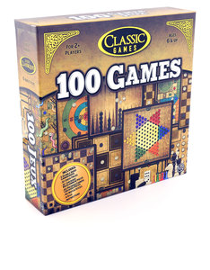 100 Classic Games Board Game