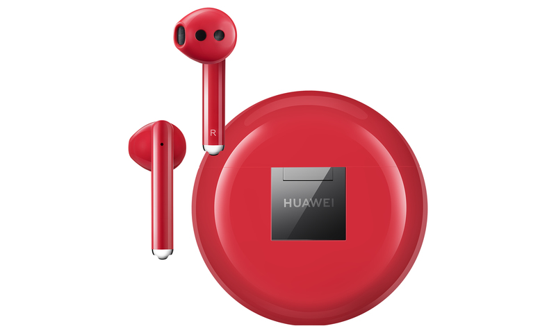 Huawei FreeBuds 3 Noise-Cancelling Earphones Red