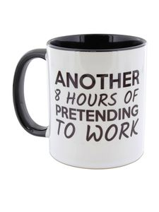 I Want It Now 8 Hours Mug
