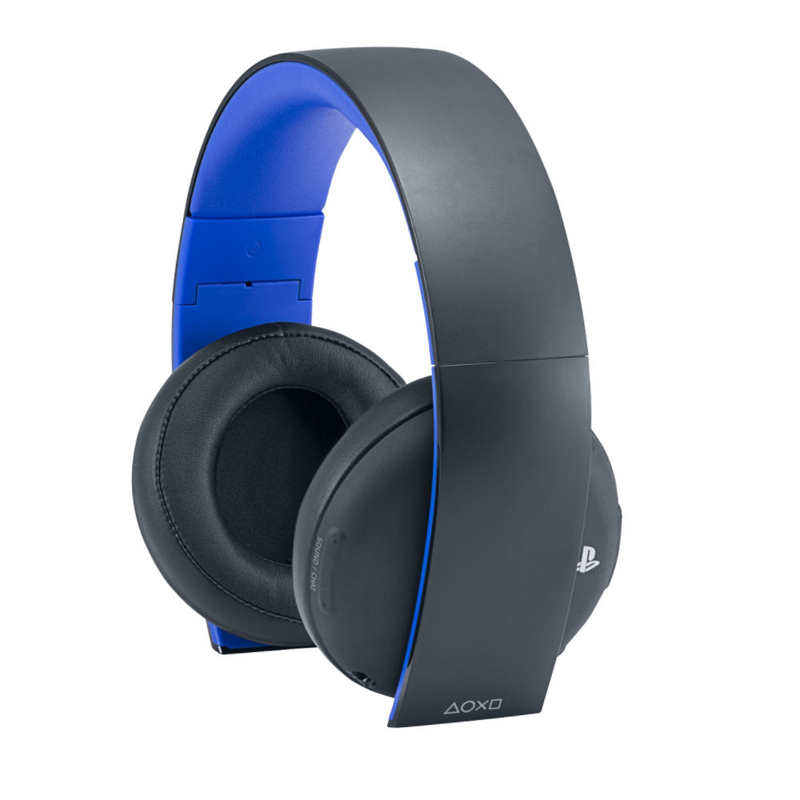 sony stereo black gaming headphones ps4 headsets. Black Bedroom Furniture Sets. Home Design Ideas
