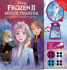 Disney Frozen 2 Movie Theater Storyboard & Projector
