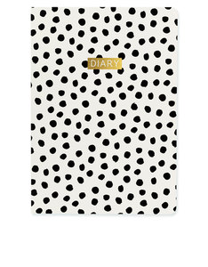 Go Stationery Monochrome A5 2017/18 Mid Year Diary