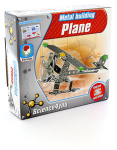 Science 4 You Build & Play: Metal Building Plane
