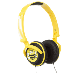 My Doodles Bee Children's 85db Volume Limiting Headphones