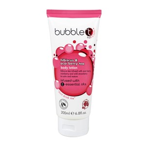 Bubble T  Body Lotion Hibiscus & Acai Berry