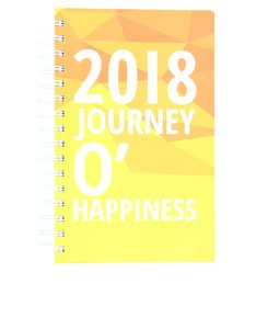 W2W 2018 Journey O'Happiness A5 Diary