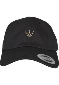 Mister Tee Crown Dad Cap Black