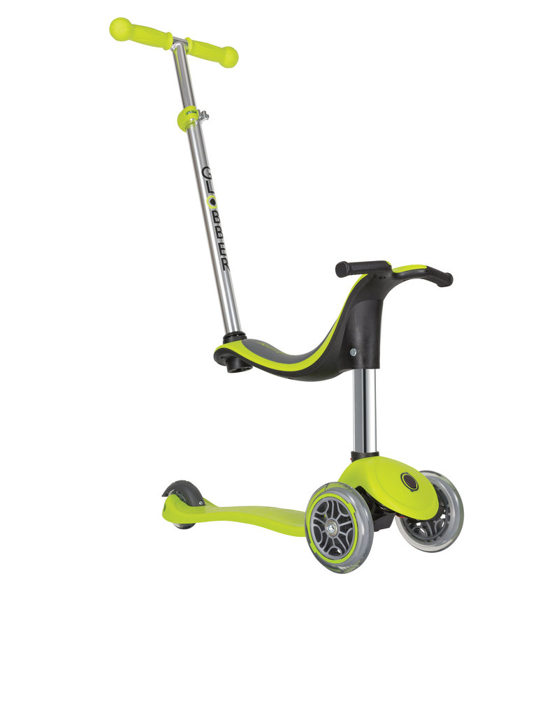 globber evo 4 in 1 lime green scooter scooters outdoor gifts toys virgin megastore. Black Bedroom Furniture Sets. Home Design Ideas