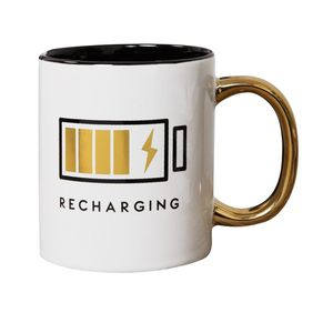 Harvey Makin Brewmaster Stoneware Recharging Mug