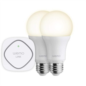 Belkin Wemo Smart Screw Fit E27 Led Light Bulb Starter Kit