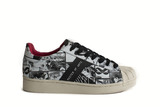 Super Breaker Diabolik Black/White Women'S Sneakers Size 37