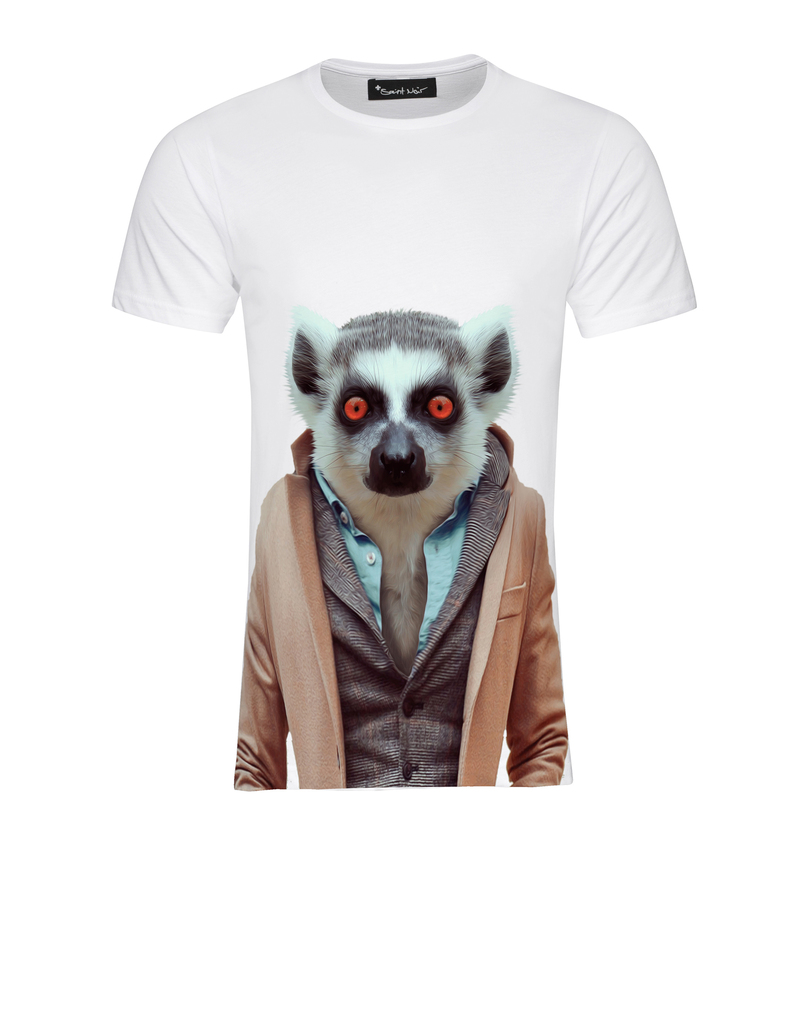 Saint Noir Lemur Men T-Shirt Xl