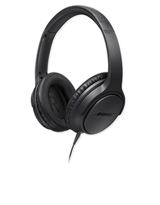 Bose Soundtrue Charcoal Black Around-Ear Headphones Apple Device