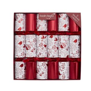 Robin Reed Piccadilly Robin Silhoutte Christmas Crackers [Set of 6]