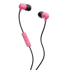 Skullcandy Jib Pink/Black/Pink with Mic 1 In-Ear Earphones