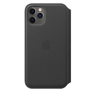 Apple Leather Folio Black for iPhone 11 Pro
