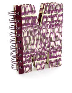 Alpha Note Books Mini Letter M