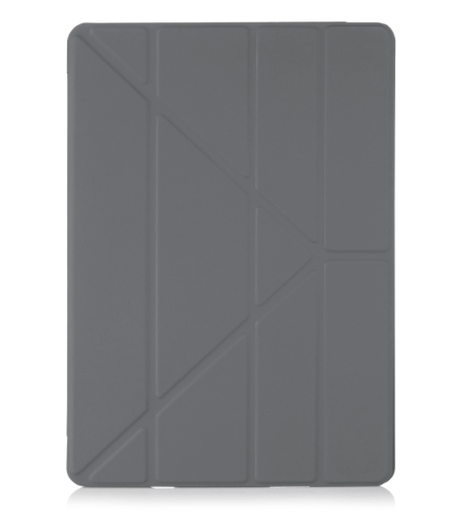 Pipetto Origami Case Dark Grey For Ipad 97 Inch Cases Tablets