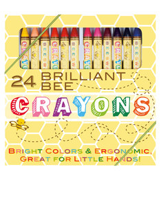 OOLY Brilliant Bee Crayons [Set of 24]
