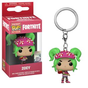 Funko Pop Games Fortnite S2 Zoey Vinyl Keychain