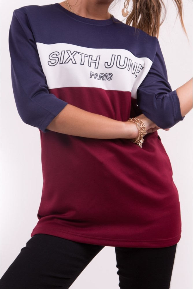 Sixth June America Women's T-Shirt Navy